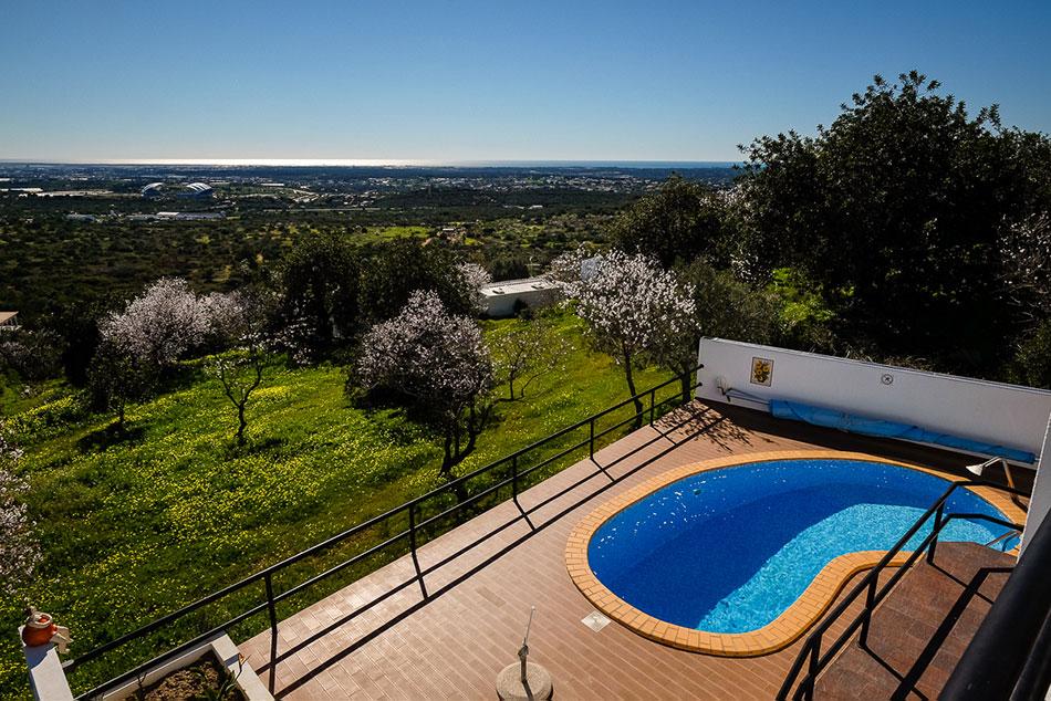 Villa de Moinho exterieur zwembad bovenaanzicht